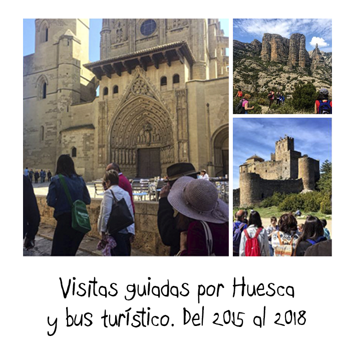 Visitas guiadas por Huesca y bus turístico